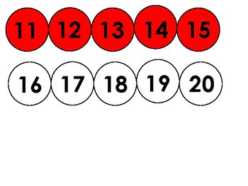 Bead String Number Line 1-100