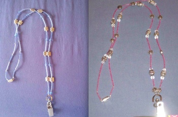 Beaded Lanyard/ Badge Holder
