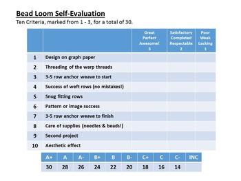 Beading Loom - Monogram Project