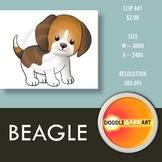 Beagel Clipart