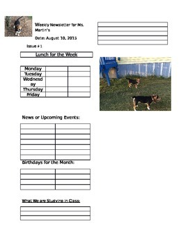 Beagle Weekly Newsletter
