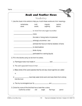 Beak and Feather News