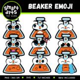 Beaker Emoji Clip Art