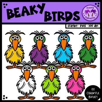Beaky Birds Clipart