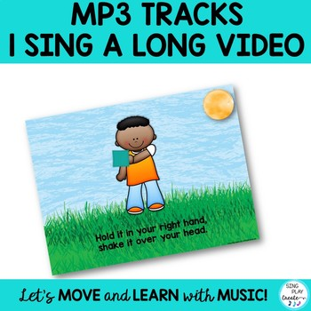 Bean Bag Activity Songs with Mp3, Video and Power Point for Pre-K-4