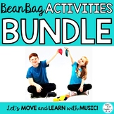 Bean Bag Game and Activities Bundle: Music, Preschool, PE, Movement Classes