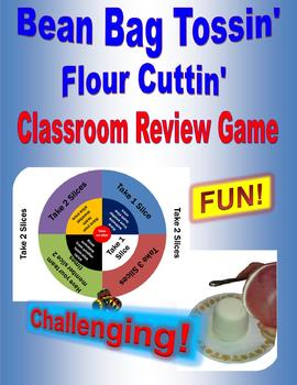Bean Bag Tossin'...Flour Cuttin'...Classroom Review Game - Digital Download
