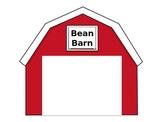 Bean Barn - window seed planter template