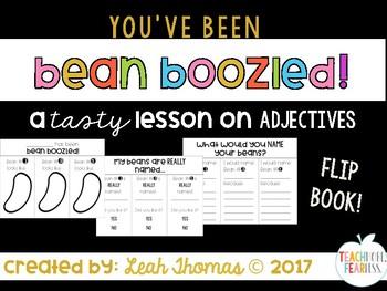 Bean Boozled Flip Book {ADJECTIVES activity}
