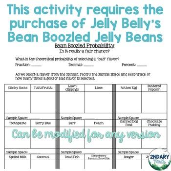 Bean Boozled Probability