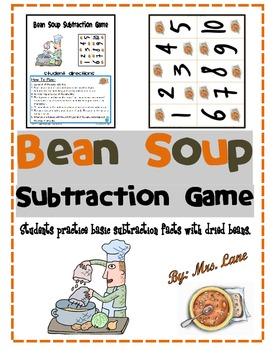 Bean Soup Subtraction Game