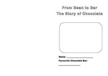 Bean to Bar (Story of Chocolate) Activity Booklet
