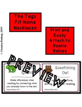 Beanie Babies Comprehension Strategies