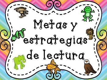 Beanie Babies Reading Strategies  Spanish
