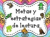 Beanie Babies Reading Strategies  Spanish