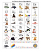 Beanie Baby Alphabet Chart - Zoo Friends