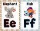 Zoo Phonics Alphabet Wall Cards {Beanie Babies}