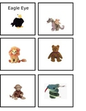 Beanie Baby Basket Labels