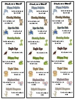 Beanie Baby Decoding & Comprehension Strategies Bundle