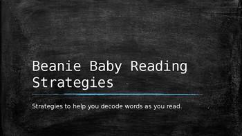Beanie Baby Decoding Strategies