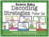 Beanie Baby Decoding Strategies Poster Set