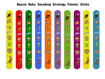 Beanie Baby Decoding Strategy Pointer Sticks