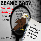 Beanie Baby Decoding Strategy Powerpoint Lessons UPDATED