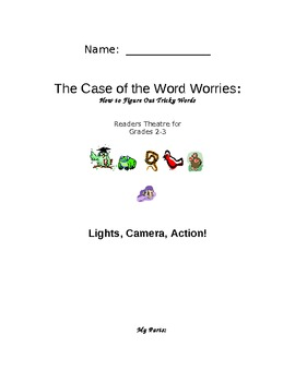 Beanie Baby Decoding Strategy Readers Theatre - The Case of the Word Worries