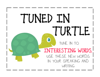 Beanie Baby Expanding Vocabulary Reading Strategies - CAFE