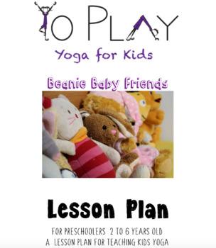Beanie Baby Friend Kids Yoga Lesson Plan