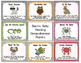 Animal Reading Comprehension Posters-Punch Cards-Brag Tag