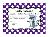 Beanie Baby Reading Comprehension Strategy Visualize Poster
