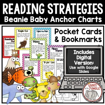Beanie Baby Reading Strategies-Decoding and Comprehension