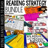 Beanie Baby Reading Strategies FULL YEAR Bundle