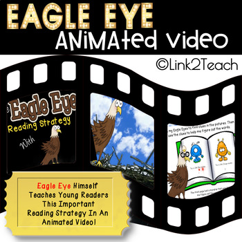 Beanie Baby Reading Strategies Video Series: Eagle Eye