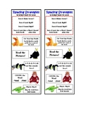 Beanie Baby Reading Strategy Bookmark