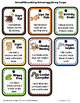 Animal Reading Strategy Incentive Punch Cards-Brag Tags- W
