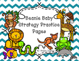 Beanie Baby Strategy Practice Pages in Color and Black and White