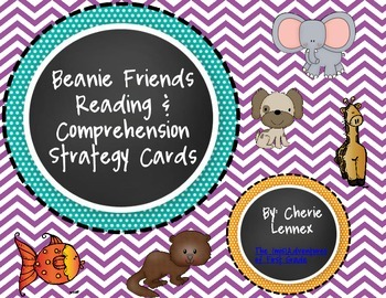 Beanie Friends Reading Strategy Posters