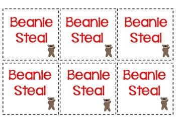 Beanie Steal - CVC words