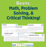 Beans: Math, Critical Thinking, and Problem Solving!