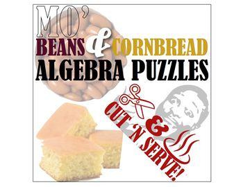 Kindergarten Algebra Puzzles: Mo' Beans & Cornbread!