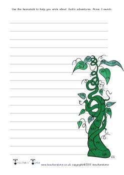 Beanstalk Digraph and Trigraph Writing Frames