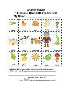 Beanstalks to Castles! An ESL, ELL, ELD, EFL Magazine-Gr.