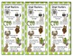 Beany Baby Comprehension Bookmarks-smaller version