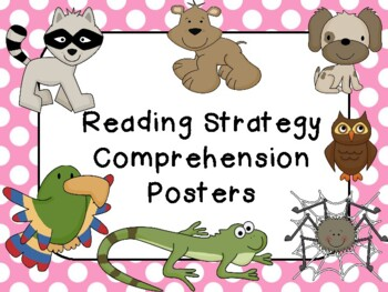 Beany Baby Comprehension Posters