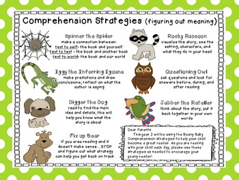 Beany Baby Comprehension for Parents
