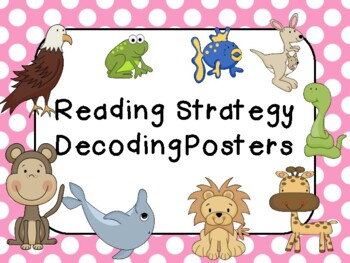 Beany Baby Decoding Posters