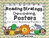 Beany Baby Decoding Posters - Shabby Chic Chevron - and  more