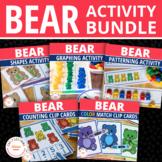 Bear Activities Bundle   Teddy Bear Math Activities